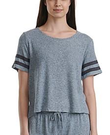 Short Sleeve Loungewear Top