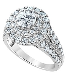 Diamond Engagement Ring (2 1/2 ct. t.w.) in 14K White Gold