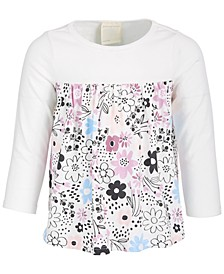 Toddler Girl Spotty Floral Tunic, Created for Macy's