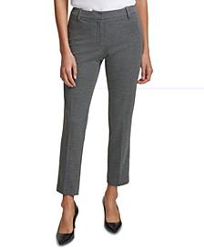 Petite Slim-Leg Ankle Pants