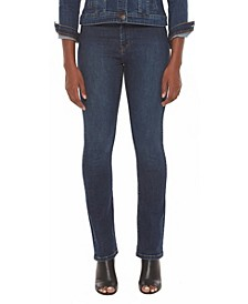 Women's Mid-Rise Straight Jeans