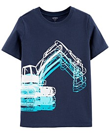 Big Boys Construction Truck Jersey Tee