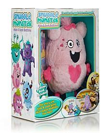 Snuggle Monster Hide Seek Bedtime Storybook Plush