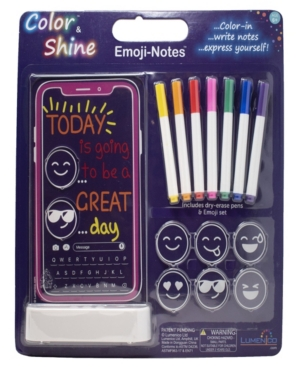 Cell Phone Emoji Notes Color Shine Nightlight
