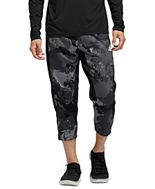 Men's Camo City Fleece Cropped Pants