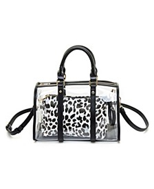 Clear Handle Handbag