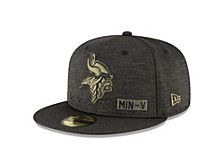 Minnesota Vikings 2020 On-field Salute To Service 59FIFTY Cap