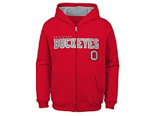 Ohio State Buckeyes Kids Full Zip Hooded Sweatshirt