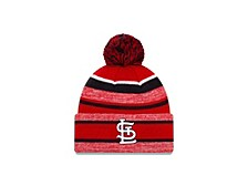 St. Louis Cardinals Striped Marled Knit