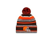 Cleveland Browns Striped Marled Knit