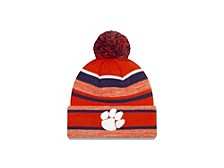 Clemson Tigers Striped Marled Knit Hat