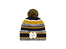 Notre Dame Fighting Irish Striped Marled Knit Hat
