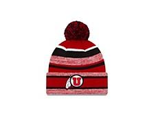 Utah Utes Striped Marled Knit Hat