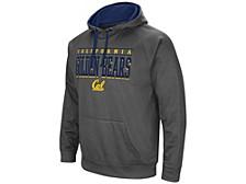 California Golden Bears Men's Poly Performance Hooded Sweatshirt