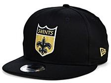 New Orleans Saints Basic 9FIFTY Snapback Cap