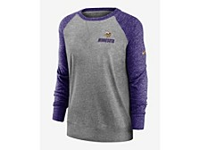 Minnesota Vikings Women's Gym Vintage Crew Sweatshirt