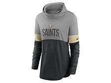 New Orleans Saints Women's Cowl Neck Long Sleeve Shirt