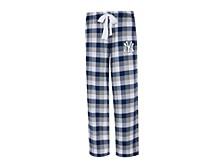 New York Yankees Women's Breakout Plaid Pajama Pants