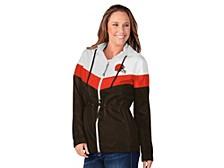 G-lll Sports Cleveland Browns Women's Stadium Lightweight Jacket