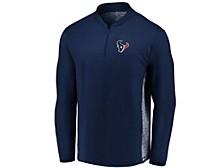 Houston Texans Men's Clutch Modern Quarter Zip Pullover