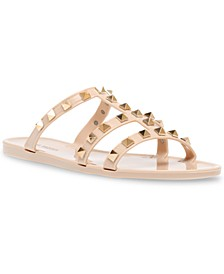 Steer Studded Jelly Sandals