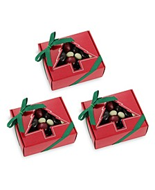 Chocolate Covered Berries Holiday Gift Box, Set of 3