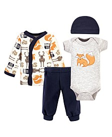 Boys and Girls Preemie Layette, Set of 4
