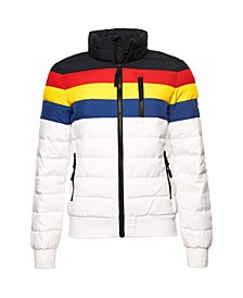 Women's Colourblock Fuji Bomber Jacket