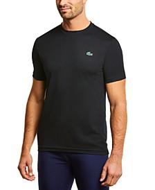 Men's SPORT Short Sleeve Crew Neck Ultra Dry Mesh Basic T-shirt