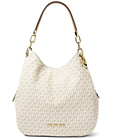 Lillie Signature Large Chain Shoulder Tote