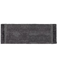 "Braided Medallion 24"" x 60"" Bath Rug"