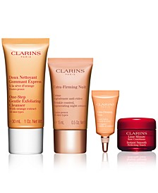 Receive a FREE 4pc Gift with any $75 Clarins Purchase (A $60 Value!)