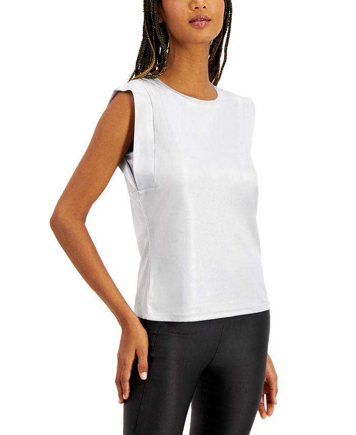 INC International Concepts - Boxy Shine T-Shirt