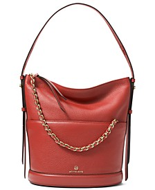 Reese Large Leather Shoulder Bag
