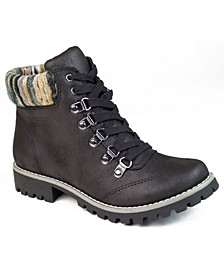 Women's Portsmouth Lace-Up Boots