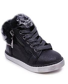 Little Girl Sneaker Look Bootie