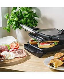 Nonstick Electric Panini Sandwich Grill