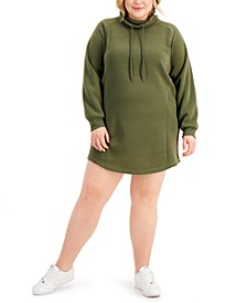 Trendy Plus Size Sweatshirt Dress