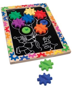 Melissa and Doug Kids Toy, Switch & Spin Magnetic Gear Board Game