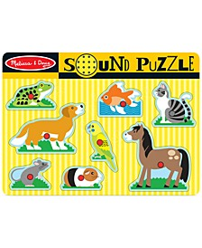 Kids Toy, Pets Sound Puzzle