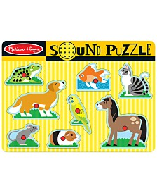 Melissa and Doug Kids Toy, Pets Sound Puzzle