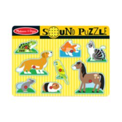 Melissa and Doug Kids Toy, Pets Sound Puzzle