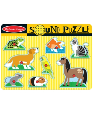 Melissa and Doug Kids Toy Pets Sound Puzzle