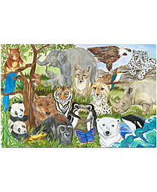 Melissa and Doug Kids Toy, Endangered Species 48-Piece Floor Puzzle