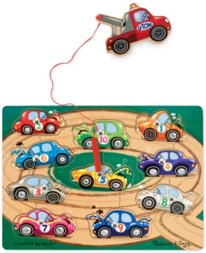 Melissa and Doug Kids Toy, Tow Truck Magnetic Puzzle Game