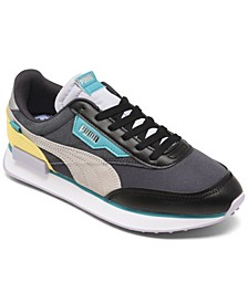 Women's Future Rider Soft Metal Casual Sneakers from Finish Line