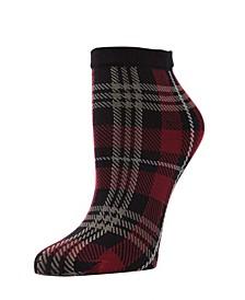 Perfect Plaid Women's Anklet Socks