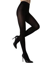 Velvet Seam Opaque Women's Tights