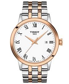 Men's Swiss Classic Dream Two-Tone Stainless Steel Bracelet Watch 42mm
