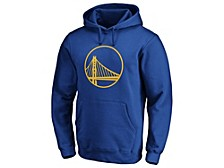 Golden State Warriors Men's Halpert Primary Logo Hoodie